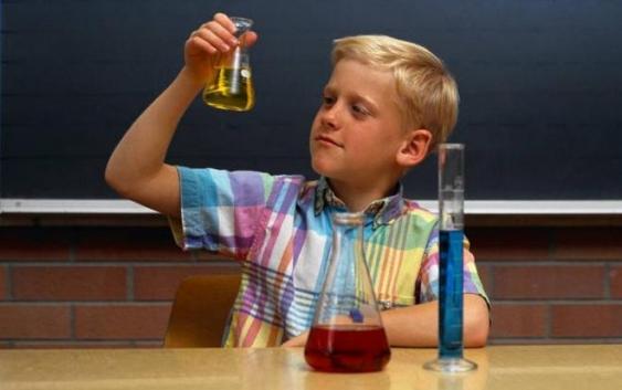 Школа юного химика