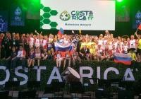 Сборная России заняла первое место на Всемирной олимпиаде роботов