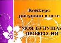 Всероссийский дистанционный конкурс эссе на тему «Моя будущая профессия»