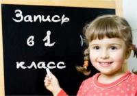 1 февраля в школах Воронежа начнется набор первоклассников