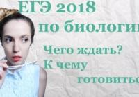 ЕГЭ-2018. Онлайн- консультация по подготовке к биологии