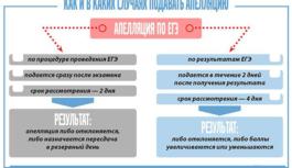 График объявления официальных результатов ЕГЭ-2018. График подачи апелляций по результатам ЕГЭ-2018