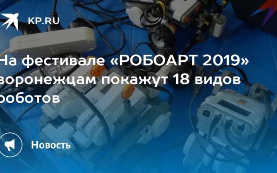 Робоарт 2019 в ВГУ
