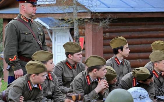 военно-историческиe лагеря «Победа» РВИО