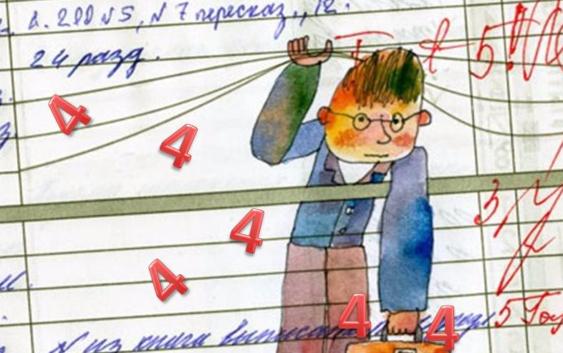 оценки в школе