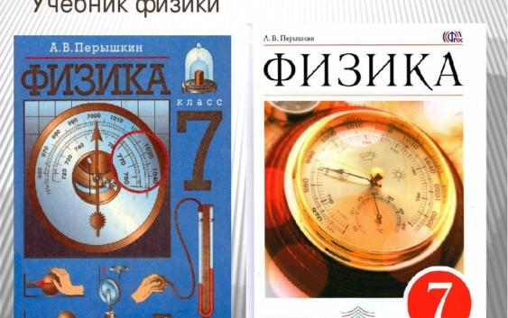 Учебники по физике А.В.Перышкина