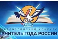 Названы имена призеров Всероссийского конкурса «Учитель года России-2019»