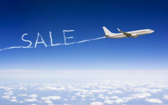 скидка на билет на самолет