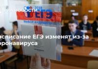 Даты досрочного периода сдачи Единого государственного экзамена будут перенесены