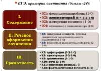 ФИПИ опубликовал критерии оценивания сочинения в ЕГЭ по русскому языку
