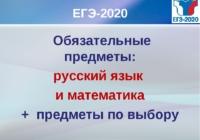 Какие предметы выбирают школьники на ЕГЭ-2020