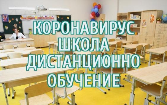 дистанционное обучение в школах коронавирус